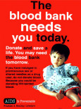 AIDS:The blood bank....