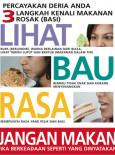 Kebersihan Makanan : Lihat bau dan rasa