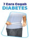Diabetes:7 Cara Cegah Diabetes