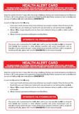Kad Amaran Kesihatan Bagi Jemaah Haji Yang Dijangkiti Penyakit MERS-CoV (BI)