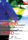 Fizikal:Berjalan 10,000 Langkah Sehari