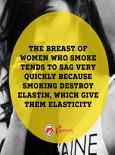 Women Breast When Smoke