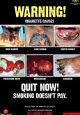 Merokok:Amaran Merokok Bergambar (B.Inggeris)