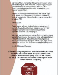 Tibi:Hari Tibi Sedunia 2003 (BM) Poster 02