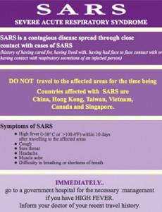 SARS (B. Inggeris)