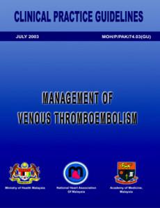 Venous Thromboembolism:Management of Venous Thromboembolism