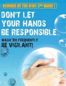 H1N1 Gelombang Kedua - Basuh Tangan (B.Inggeris)