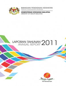 Laporan Tahunan 2010 Bahagian Pendidikan Kesihatan (B. Inggeris)