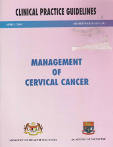 Management of Cervical Cancer