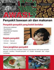 Makanan :Penyakit Bawaan makanan dan air