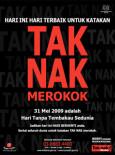 Tembakau:Hari Tanpa Tembakau (B.Malaysia)