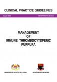 Immune:Management of Immune Thrombocytopenic Purpura