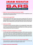 SARS : Amaran kesihatan (B. Malaysia)