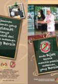 Makanan:Anda Bijak Kerana Memilih Premis Bersih