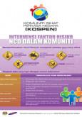 NCD:Intervensi Faktor Risiko NCD Dalam Komuniti