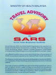 SARS :Garis Panduan Perjalanan SARS (English)