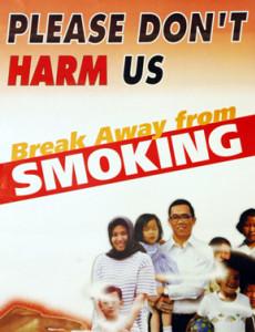 Merokok: Please don't harm us