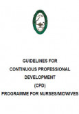 Guidelines for Continuous Professional Development (CPD) Programme for Nurses/Midwives
