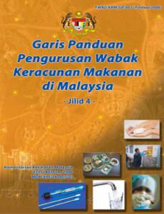 Makanan:Garis Panduan Pengurusan Wabak Keracunan Makanan di Malaysia Jilid 4