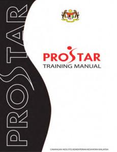PROSTAR:Manual Latihan PROSTAR (English)