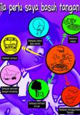 Kebersihan Makanan : Bila Perlu saya membasuh tangan