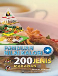 Makanan:Panduan Nilai Kalori 200 Jenis Makanan