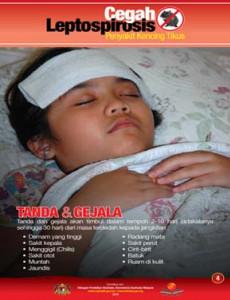 Leptospirosis: Tanda & Gejala