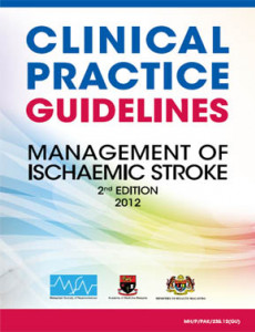 Stroke:Management of Ischaemic Stroke (2nd Edition) (CPG-2013)