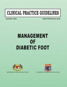 Diabetic Foot:Diabetic Foot Management of Diabetic Foot