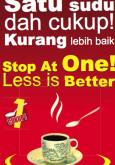 Gula:Satu Sudu Dah Cukup! Kurang Lebih Baik