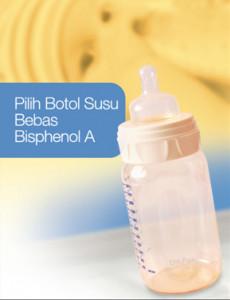 Bisphenol:Botol Susu Bebas Bisphenol A (BM)
