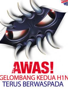 H1N1:Awas! Gelombang Kedua H1N1