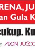 Gula:Pameran Kempen Kurangkan Pengambilan Gula Banner 1 cukup