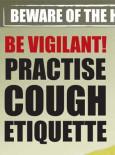 H1N1 Gelombang Kedua - Amalkan Adab Batuk (BI)