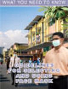 Pandemik Influenza : Penggunaan Penutup Mulut (BI)