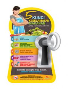 BKKM:5 Kunci Keselamatan Makanan Yang Perlu Anda Tahu