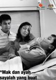 Merokok : Mak dan ayah sayalah yang buat saya sakit