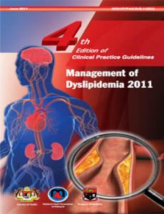 Dyslipedemia:Management of Dyslipedemia (4th edition) (CPG-Jun 2011)
