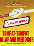 Merokok:Tak Nak : Tempat Larangan Merokok