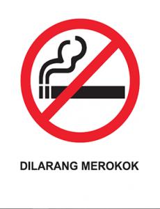 Merokok:Dilarang Merokok