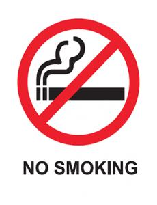 Merokok:No Smoking