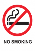 Merokok:No Smoking