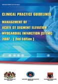 Management of Acute ST Segment Elevation Myocardial Infarction (STEMI)-(2nd Edition) (CPG-Apr 2007)