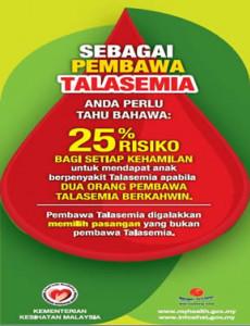 Talasemia:Sebagai Pembawa Talasemia
