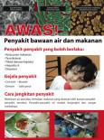 Penyakit Bawaan Air dan Makanan: Penyakit yang boleh berlaku