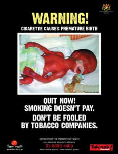 Merokok:Amaran ! Rokok menyebabkan ...