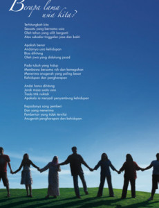 Derma Organ : Berapa Lama Usia Kita (B. Malaysia)