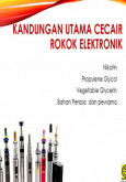 Merokok:Rokok Elektronik