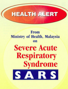 SARS: Health Alert Card