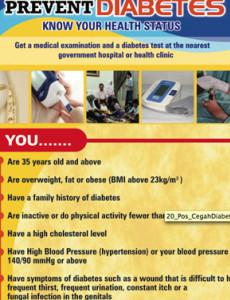 Diabetes:Cegah Diabetes (B. Inggeris)